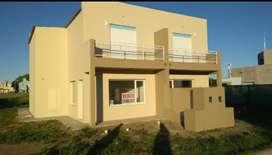 Duplex patagonia norte. 100 m2 2 dorm 2 baños