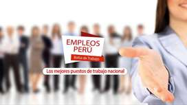 NECESITO ASESORES COMERCIALES PARA VENTAS PRODUCTOS