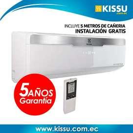 Aire acondicionado electrolux 12000 BTU 220 V 5 años de garantia istalacion gratis blanco