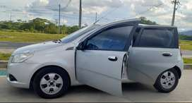 VENDO AVEO GT EMOTION 2013 HATCHBACK - ECONOMICO