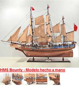 hms bounty a escala