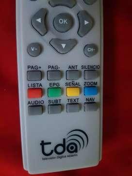 Control remoto TDA
