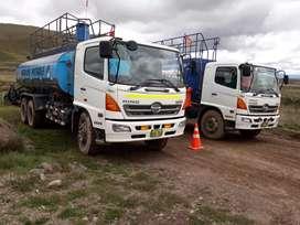 Se vende cisterna hino año 2015 mantenimiento al dia