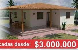 CASAS PREFABRICADAS DESDE 3.500.000