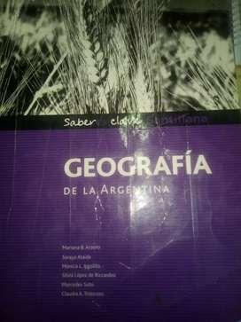 GEOGRAFIA de la Argentina Santillana