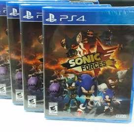 SONIC FORCES PS4 NUEVO SELLADO