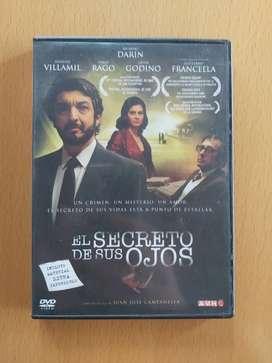 DVD el secreto de sus ojos darín villamil francella
