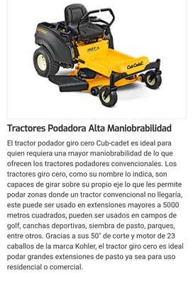 VENTA DE TRACTOR PODADOR CUB-CADET