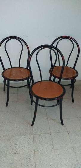 Vendo sillas de comedor