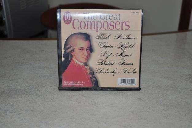 10 Cds Musica Clasica The Great Composer, Con Estuche! 0