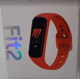 Smart Watch Samsung Galaxy Fit2 Rojo - Nuevo