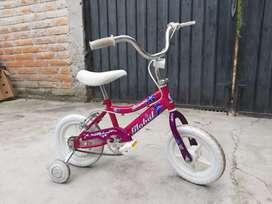 Bicicleta Usada de Niña menor de 5 años