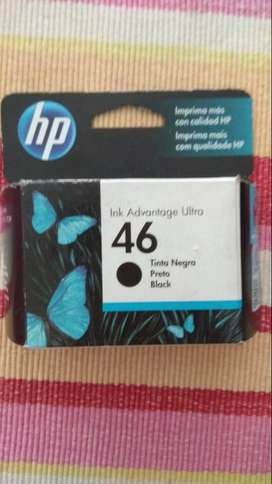 Cartucho Impresora HP 46 - Negro