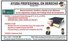 ABOGACÍA: Trabajo Final de Graduación (UE SIGLO 21)