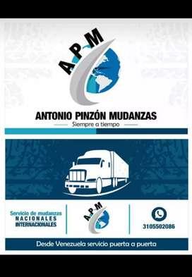 Servicio de mudanza y transporte nacional e internacional