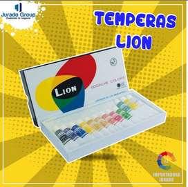 Temperas Lion