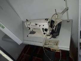 Maquina de coser plana singer 20u