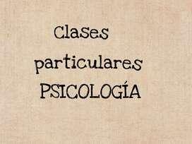 CLASES PARTICULARES DE PSICOLOGÍA
