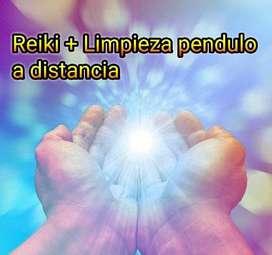 Reiki a distancia + limpieza energética uso de pendulo+ informe