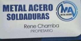 METAL ACERO SOLDADURAS