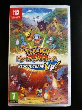 Pokemon mystery dungeon - Nuevo - Nintendo Switch