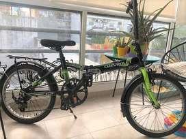 Bicicleta Plegable Chevrolet Rodado 20