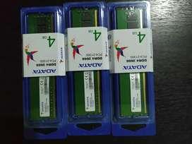 Memoria RAM 4 GB DDR4 2666 Nuevas