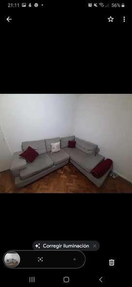 Sofa de 2 piezas