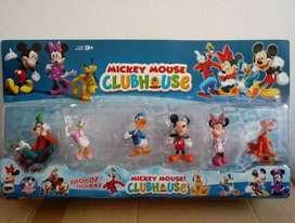 Set de 6 Muñecos Mickey Mouse Club House