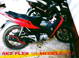 MOTO AKT FLEX 125 -2015