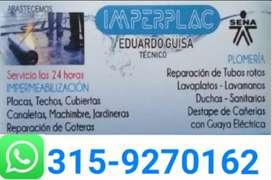 Reparacion de techos - Impermeabilizacion