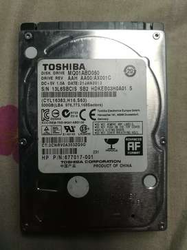 Disco duro para portátil 500GB