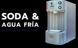 Maquina de Soda Gassata Nueva