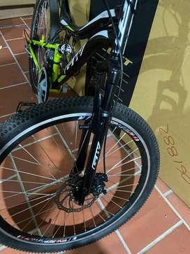 Vendo Bicicleta montañera MTB marca GW
