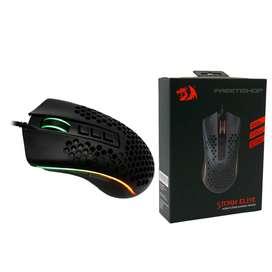 Mouse Gamer Redragon Storm Elite M988-rgb Negro 16000 Dpi