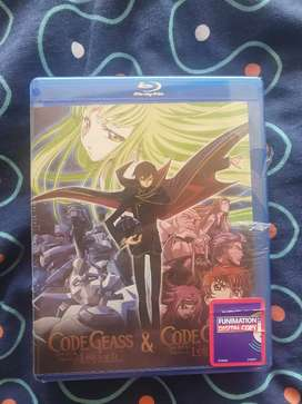 Blu Ray nuevo code geass