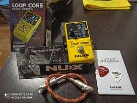 Pedal grabador de loops - Nux Loop Core