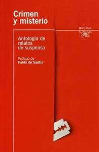 LIBRO USADO CRIMEN Y MISTERIO ANTOLOGIA DE RELATOS DE SUSPENSO