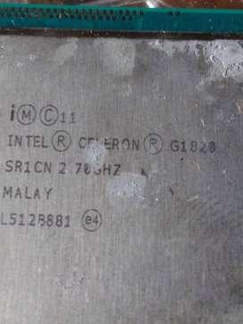 Procesador Celeron G1820 cuarta generacion