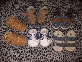 Lote de zapatos y zapatillas bebe