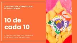 Famosas empanadas de Bogotá Beer Company para su negocio