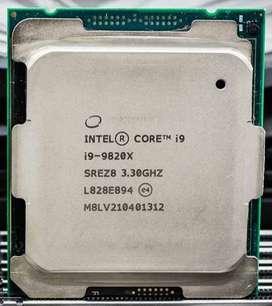 Intel Core i9-9820X Serie X 10 núcleos hasta 4.1 GHz Turbo LGA2066 X299 Series 165 W Without Box