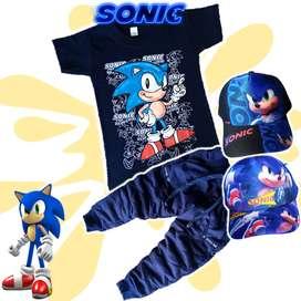 Conjuntos De Sonic Para Niños