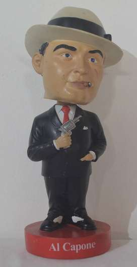 Muñeco Al Capone Bobble Head (Mr. Bobblehead)