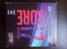 Procesador Intel Core i7 8700K