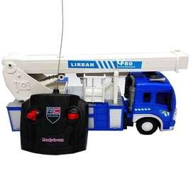Carro Camión De Rescate A Control Remoto