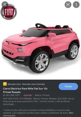 Vendo carro electrico marca Prinsel