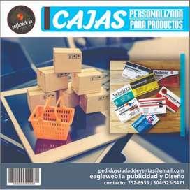 Cajas de productos personalizada