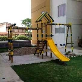 juegos infantiles parques y casa de muñecas