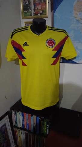 Camisetas originales de la selección Colombia.